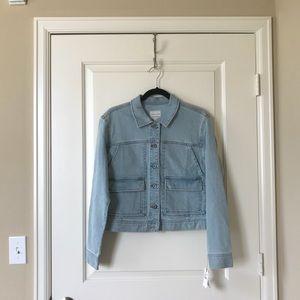 Melrose and market light wash denim jacket, sizeM